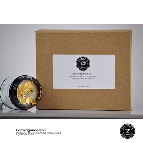 Extravagance no.1 Pure Gold and Shea Butter Balm