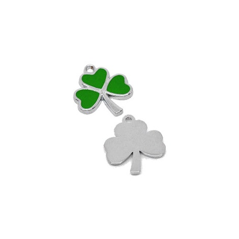 Irish Green Shamrock Cat Collar With Charm 2