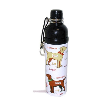 Puppy Love 750ml Pet Water Bottle