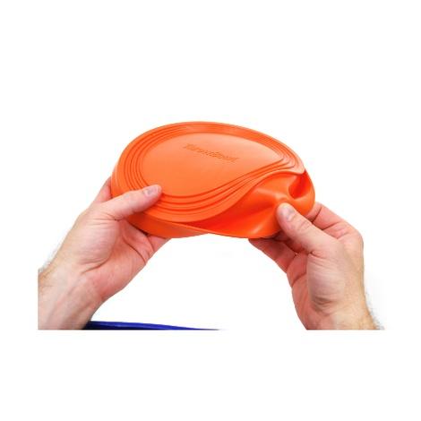 ThrowBowl Frisbee Water Bowl - Orange 4