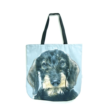 Deejay the Wire-haired Dachshund Dog Bag