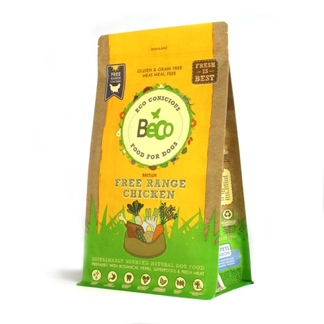 Beco British Free Range Chicken Food for Dogs