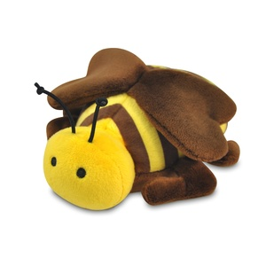Burt the Bee Plush Dog Toy