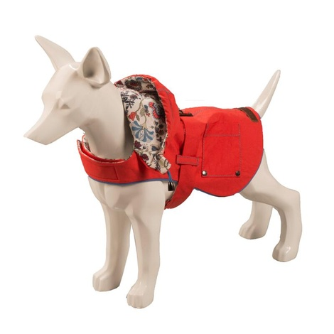 Hampstead Dog Hoodie – Raspberry & Liberty Mabelle