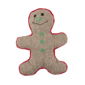 Pet Brands - Christmas Gingerbread Man Dog Toy