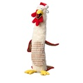 Turkey & Stuffing Dog Toy with Water Bottle  2