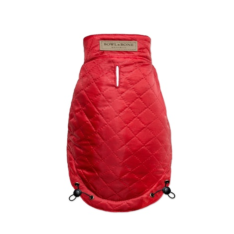 Spirit Quilted Dog Jacket - Red