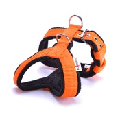 El Perro - 2.5cm Width Fleece Comfort Dog Harness – Orange