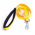 Fleece Comfort Dog Lead – Yellow