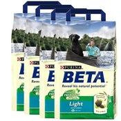 Beta - Light Dog Food x 4