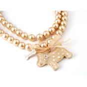 Dog & Dolls - Charlotte Gold Necklace
