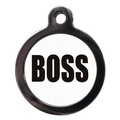 Boss Pet ID Tag