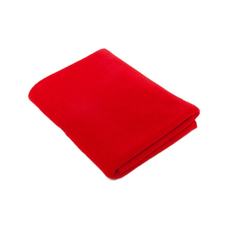 Personalised Fleece Blanket – Red (Pack of 10)