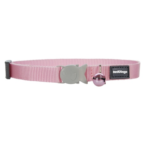 Plain Pink Cat Collar
