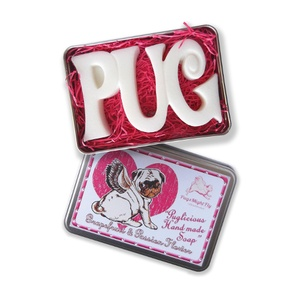 Puglicious Pug Soap - Grapefruit & Passion