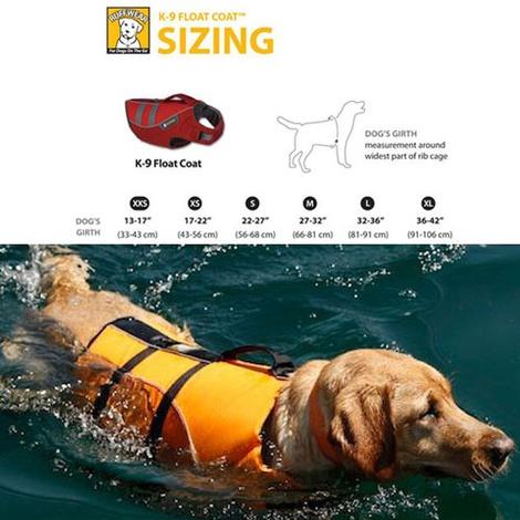 Ruffwear K-9 Float Coat - Dandelion Yellow 3
