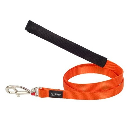 Plain Orange Dog Lead