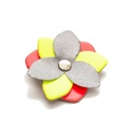Reflective Flower Accessory - Mixed Neon 2