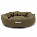 Forest Green Tweed Donut Bed 6