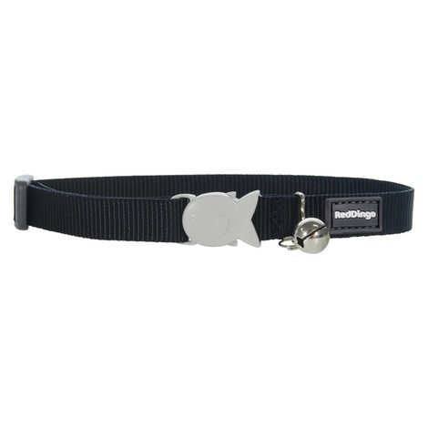Plain Black Cat Collar