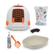 Igloo - The Igloo' for Cats Starter Kit – Sunset Orange