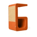 Scratching Post - Letter G - Orange