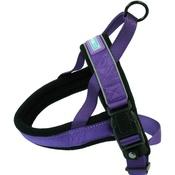 Hem & Boo - Reflective Padded Dog Harness - Purple