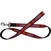 Hem & Boo - Diamond Dog Lead - Red