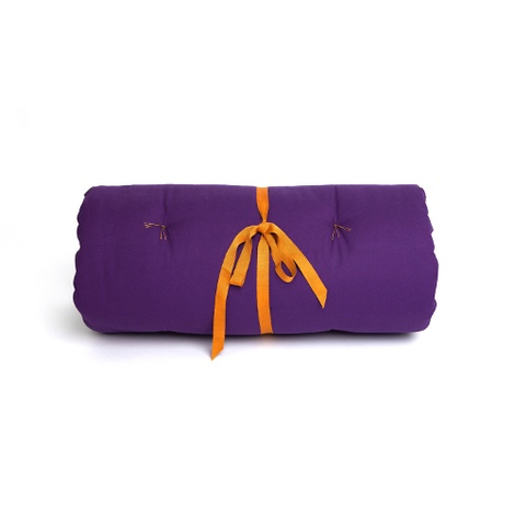 Plain Dog Roll Bed - Violet 2