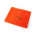 Personalised Orange Snooze Pet Blanket - Classic font