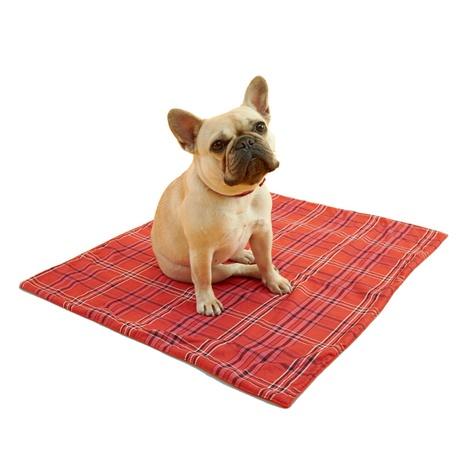 Henry Holland Red Tartan Dog Blanket