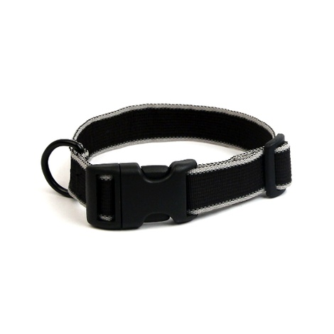 Secret Agent Dog Collar - Black