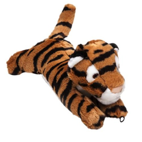 Fluff & Tuff Plush Dog Toy – Boomer the Tiger