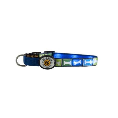 Northern Lights LED Dog Collar