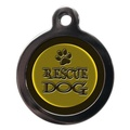 Rescue Dog Pet ID Tag