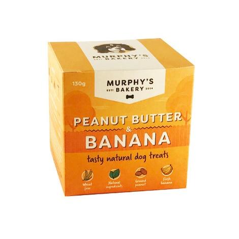 Peanut Butter & Banana Crunch Dog Treats x 3