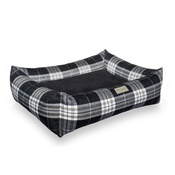 Bowl&Bone Republic - Scott Dog & Cat Bed - Grey