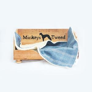 Polo Tweed Dog Blanket