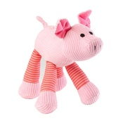 House of Paws - Oinking Pig Corduroy Dog Toy