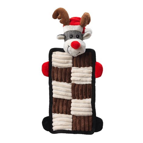 Rudolph Quilted Squeaker Dog Toy