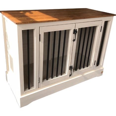 Handmade Wooden Dog Crate 2