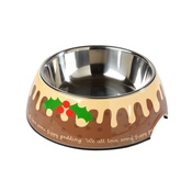 House of Paws - Christmas Figgy Pudding Pet Bowl