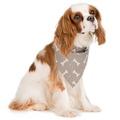 Mushroom Bone Linen Dog Neckerchief 4