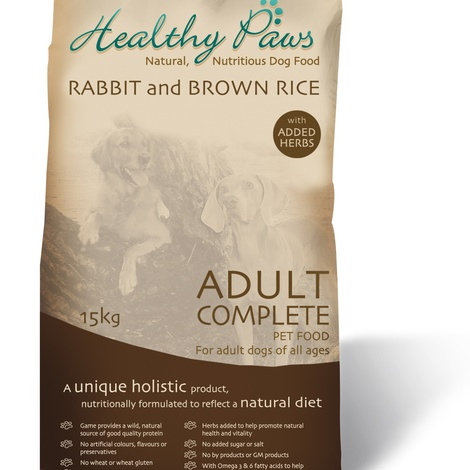 Rabbit and Brown Rice 15kg 2