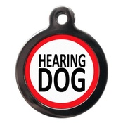 PS Pet Tags - Hearing Dog Pet ID Tag