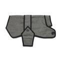 Grey Wool Blazer Dog Coat 3