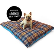 Henry Holland - Henry Holland Blue Tartan Dog Bed