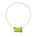 Lumitube Light Up Dog Collar - Green 2