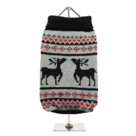 Nordic Reindeer Dog Sweater 2