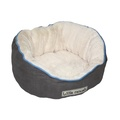 Little Rascals Night Night Pet Bed – Light Grey